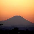 富士山 夕焼け2