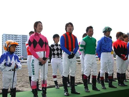 120219ポニーレースin川崎-表彰式後参加者からの挨拶-03