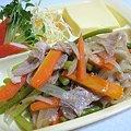 豚肉と野菜のマリネ…