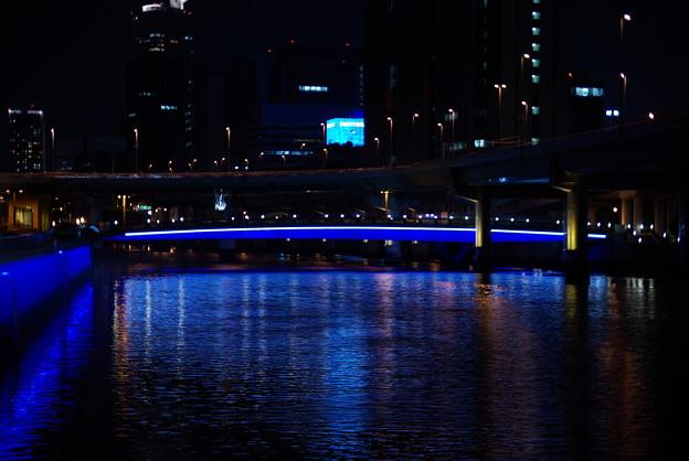 堂島川・夜