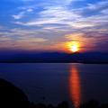 写真: 黄昏の駿河 ~浜名湖~