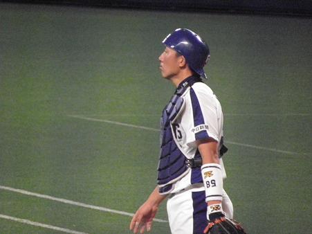 010 キャッチャーは田中