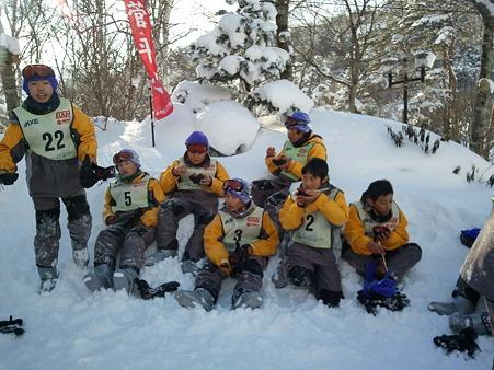 吹上中学校 菅平汁2012-02-02