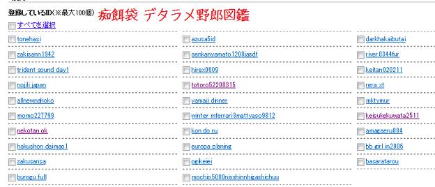 フォト蔵痴餌袋デタラメ野郎図鑑アルバム: hoge (223)写真データフォト蔵ツイート