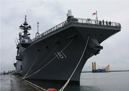 最大級 護衛艦 ひゅうが
