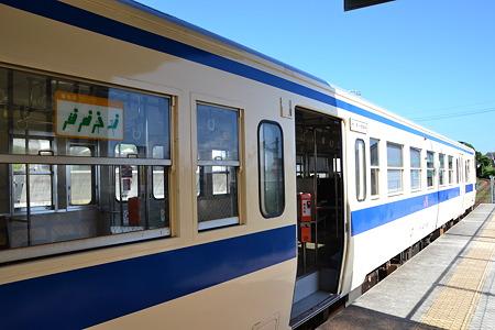 最南端を走る列車(キハ47形)@枕崎駅[8/13]