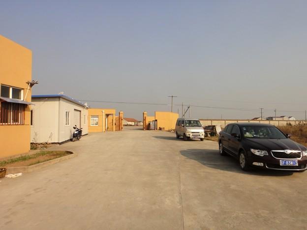啓東 工場入口