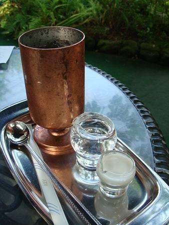 水出しアイスコーヒーさん@旦念亭