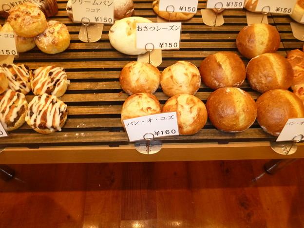 ブーランジェリー レクラ(L'eclat)店内のパン