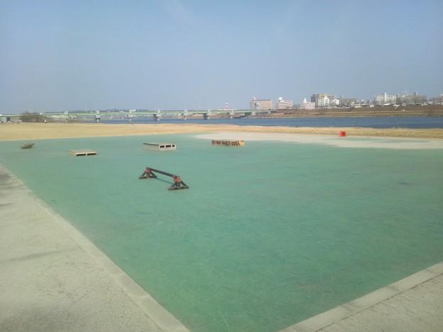 大淀川河川敷の公園1