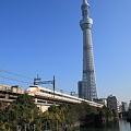 東京スカイツリーとスペーシア