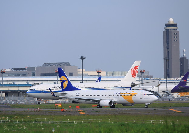MIAT Mongolian Airlines Boeing 737-8AS