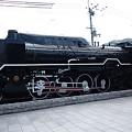 Photos: 嵐山嵯峨駅の蒸気機関車