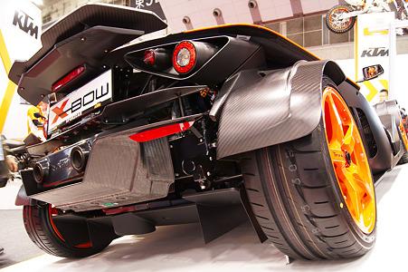 KTM X-BOW Sportcar リアビュー