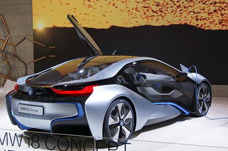 BMW i8 CONCEPT リアデザイン