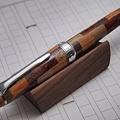 写真: 寄木細工万年筆