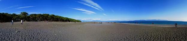 2012年1月3日 三保の松原 パノラマ写真 220度