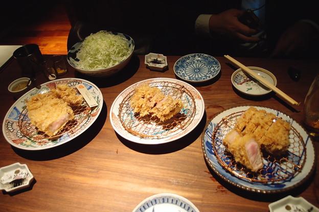 写真: なんて贅沢な食卓でしょう!