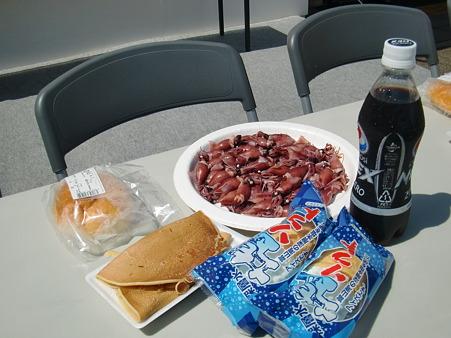 2012年 滑川ホタルイカ祭り 滑川名物大食いコンテスト 大会用料理