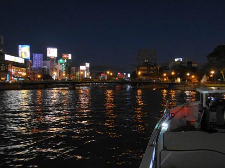 中洲方面の夜景