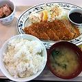 Photos: 札幌市建設局下水道庁舎食堂 とんかつ定食