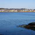 Looking Over Fort Popham 3-11-12
