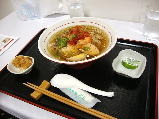 和風冷麺のセット
