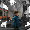 Photos: JR高尾駅の頭像