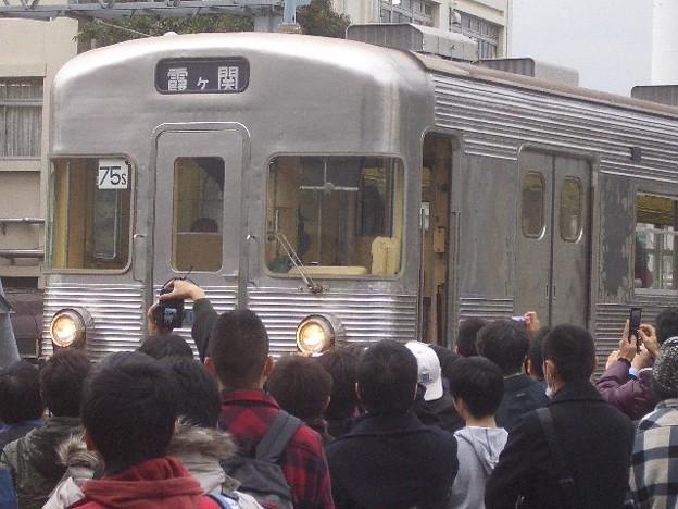 日比谷線 霞ヶ関行先幕 CIMG7381