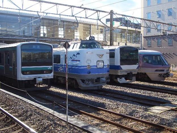 常磐線 勝田駅車両基地 CIMG7795