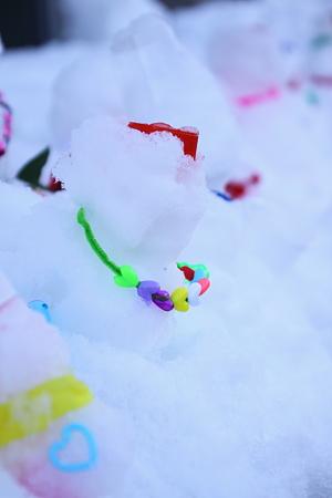 ちびっ子雪だるまコンテスト