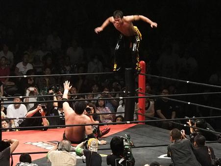DDT 両国ピーターパン2011 〜二度あることは三度ある〜 KO-D無差別級選手権 石川修司vsKUDO (21)
