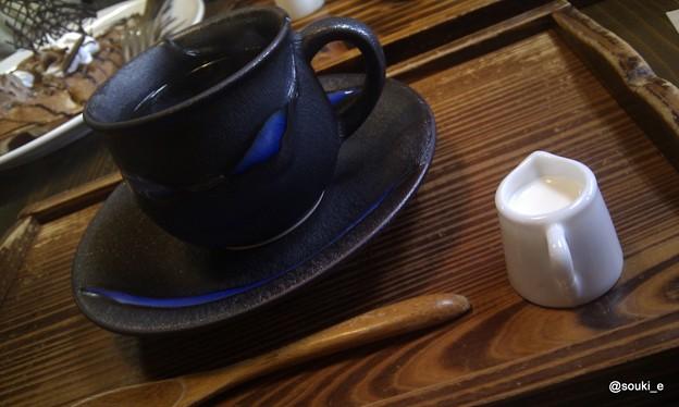 写真: 湧山のコーヒー