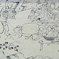 鳥獣人物戯画(陶板名画の庭)