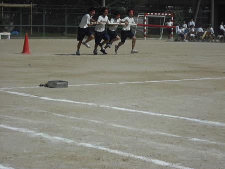 体育祭(台風の目)