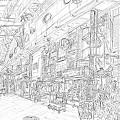 写真: 空堀ど~り商店街 #ske...