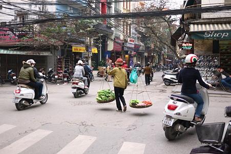 2012.03.12 ハノイ 旧市街 行商