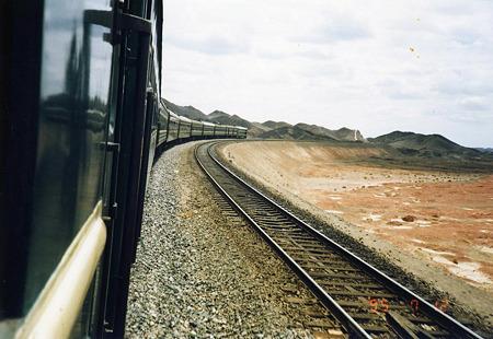 1995.07.12 トルハン→柳園 列車の旅
