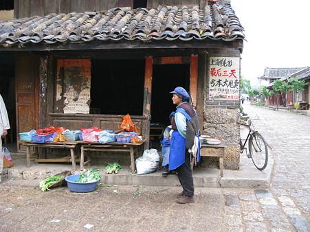 2008.04.27 雲南の旅 白沙村 街角