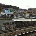 写真: 八王子みなみ野駅ホームから見た風景