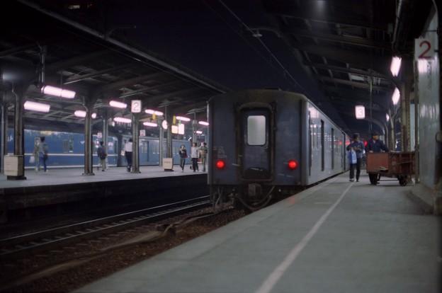 BY22s-急行だいせんと荷物列車?、大阪駅