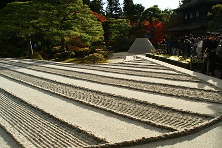 銀閣寺の銀沙灘!20111204