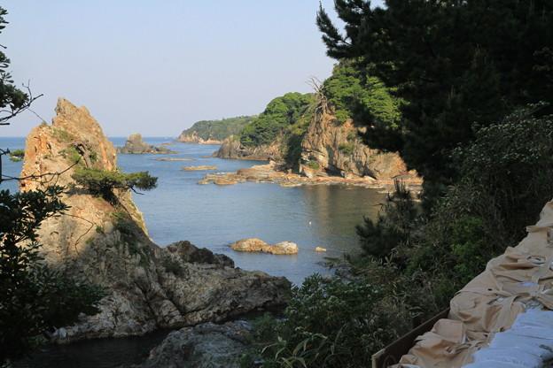 Photos: 110519-1四国中国地方ロングツーリング・日御碕灯台への道から