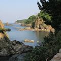 110519-1四国中国地方ロングツーリング・日御碕灯台への道から