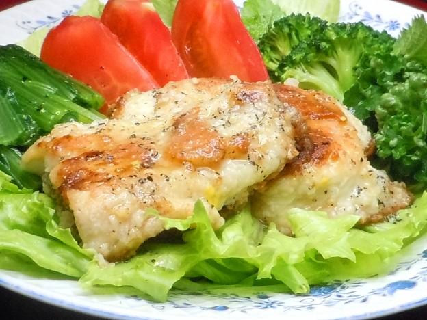 塩麹を使ったおいしいスズキ(白身魚)のソテー♪