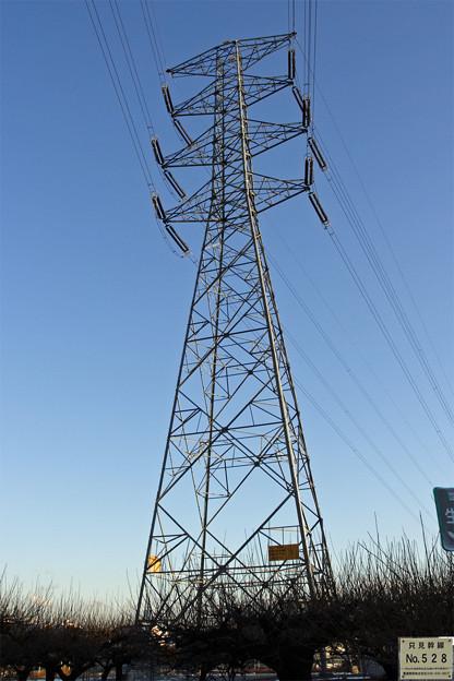 只見幹線528号鉄塔