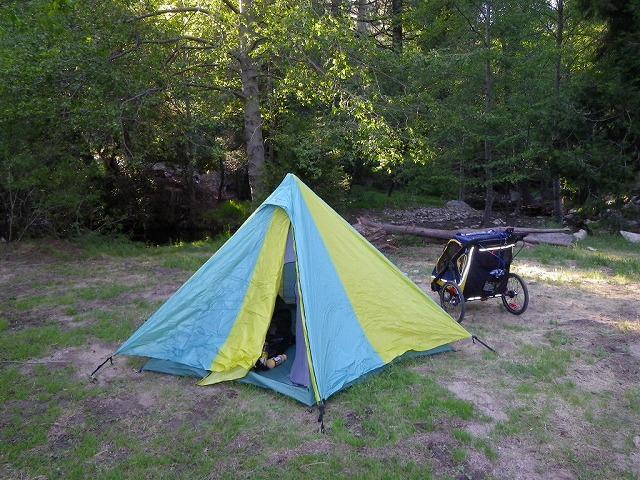 キャンプ…テントはファイントラックのポットラック