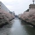 Photos: 12.04.11.深川1丁目海辺橋。仙台堀川。