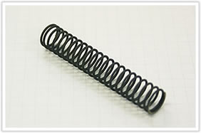 硬引きチタン線の圧縮バネ
