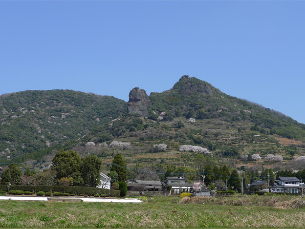 Photos: 山鹿市の不動岩